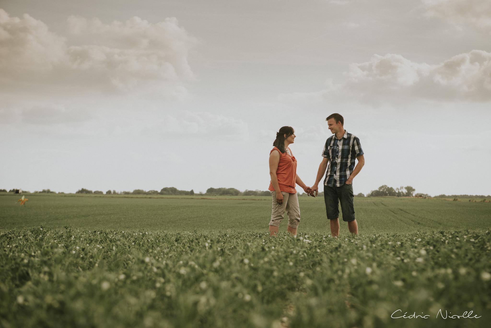 Photographe fiançailles Douai