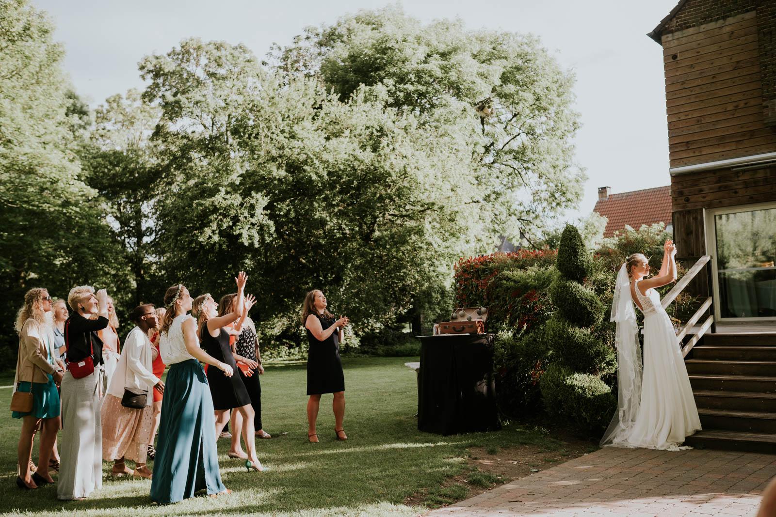 Le lancer de bouquet, une tradition !