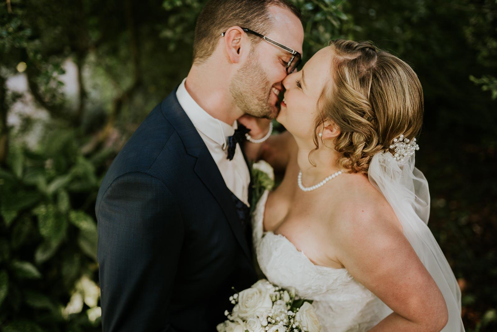 Début de séance, premiers baisers…