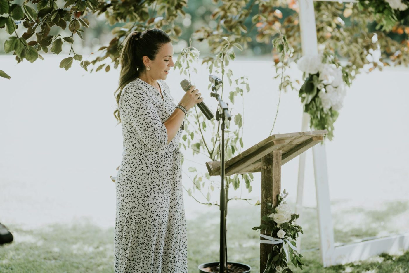 Anne-Claire, wedding planner, était au cœur de la cérémonie