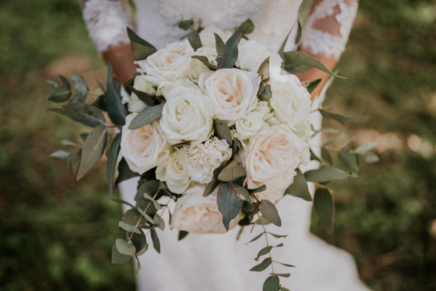 Le bouquet de la mariée.