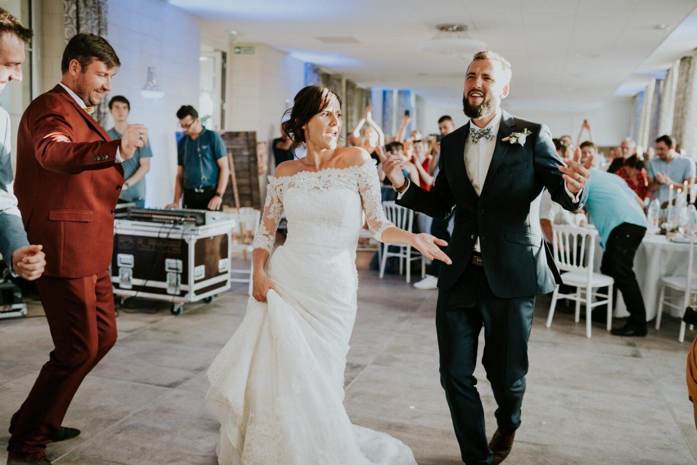 Entrée des mariés !