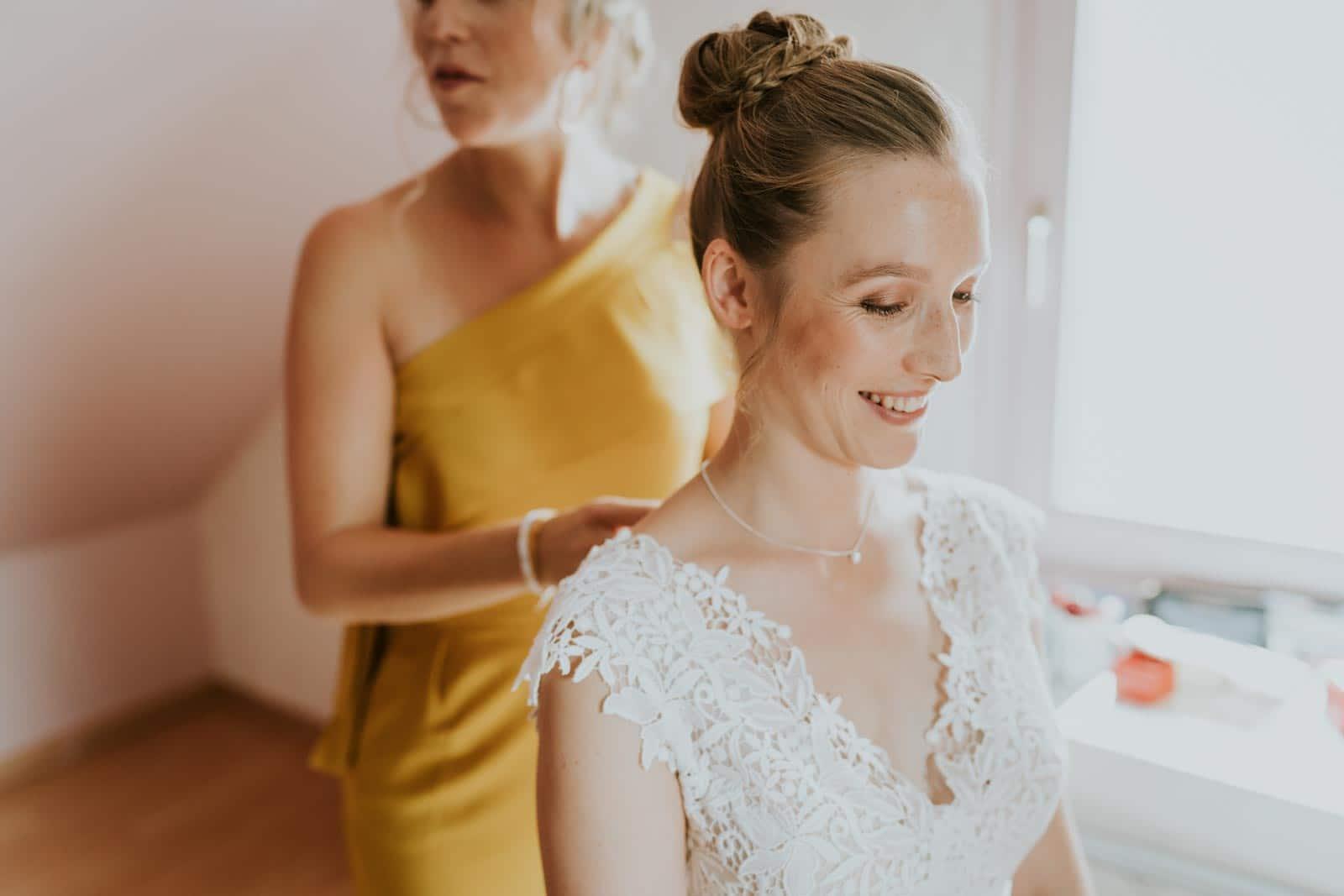 La mariée est presque prête…