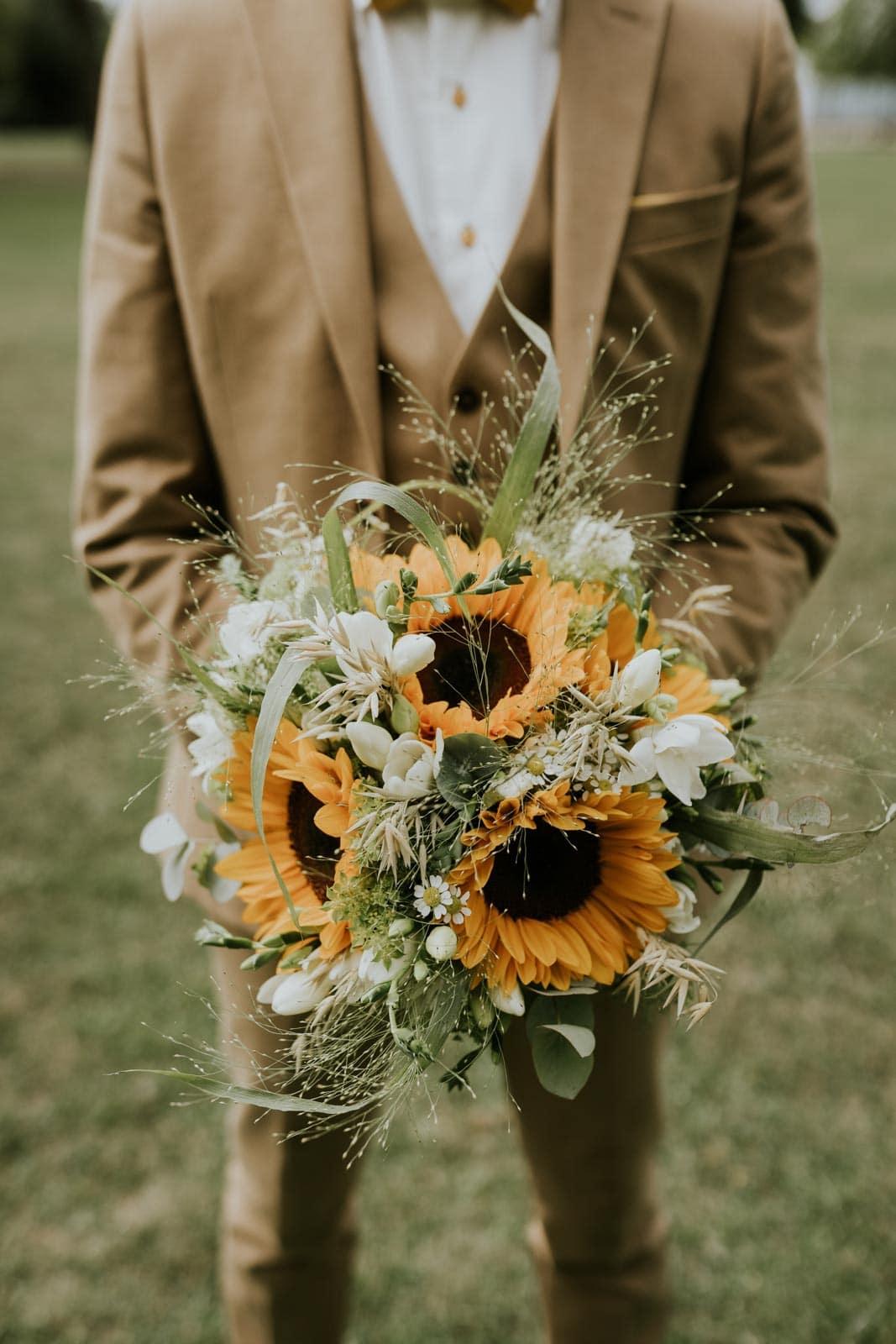 Le bouquet d la mariée…