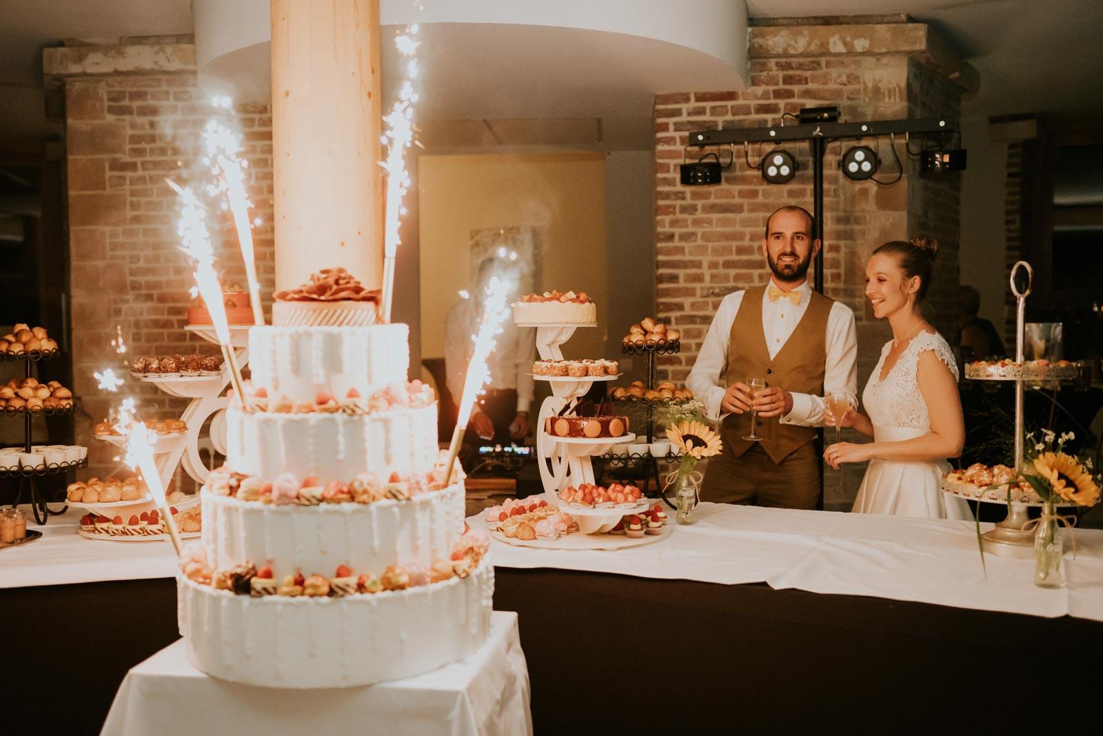 Présentation du dessert - Chateau de Morbecque…