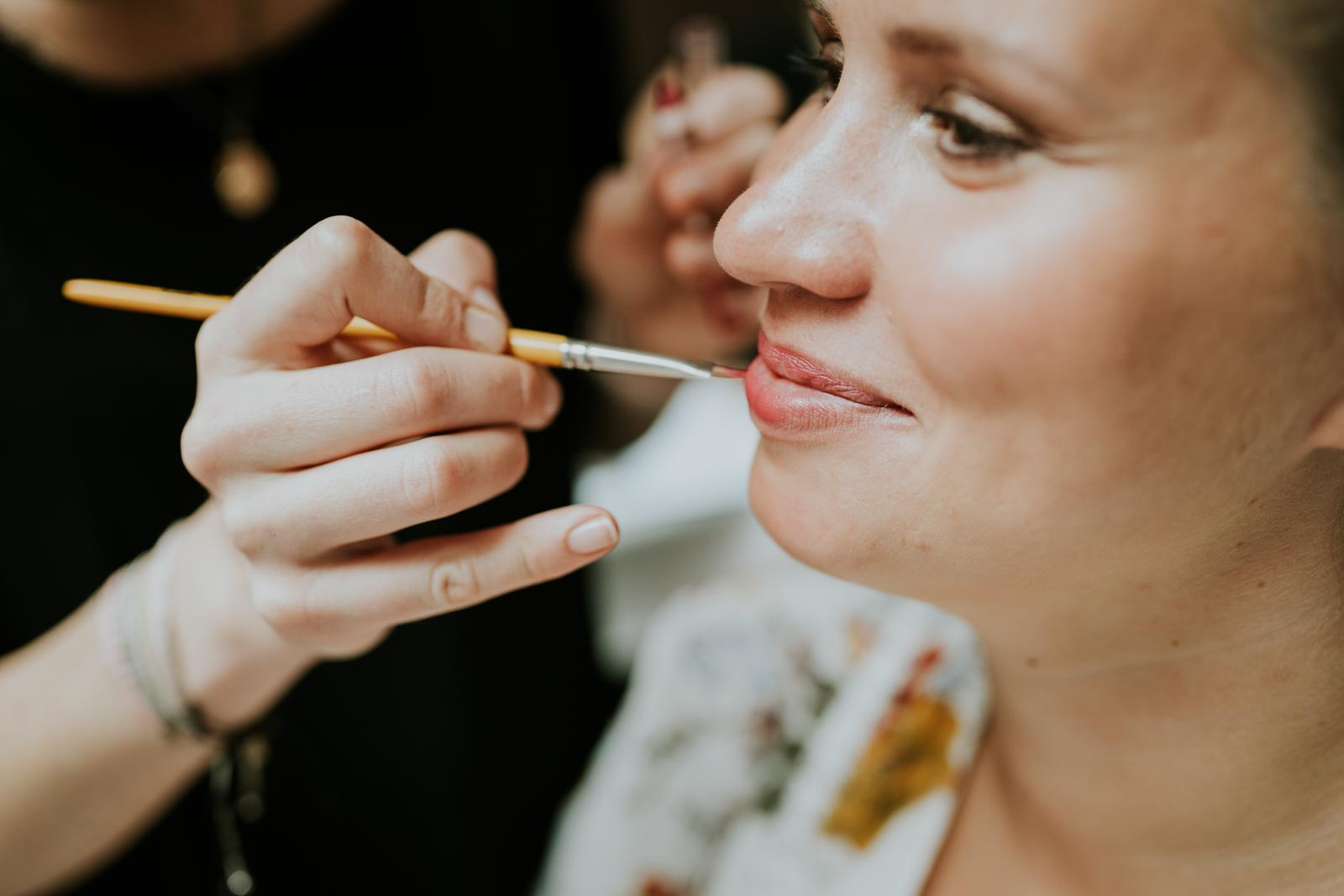 Maquillage pour Anne-Laure…