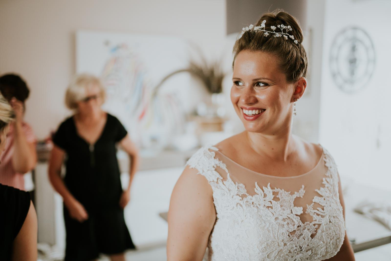 La mariée est prête…