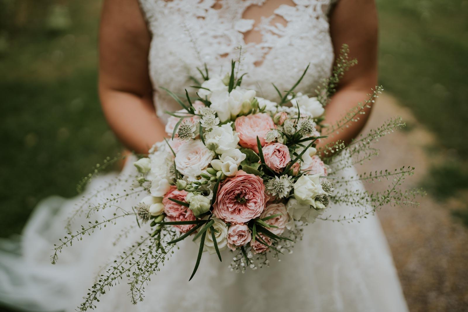 Le bouquet de la mariée !
