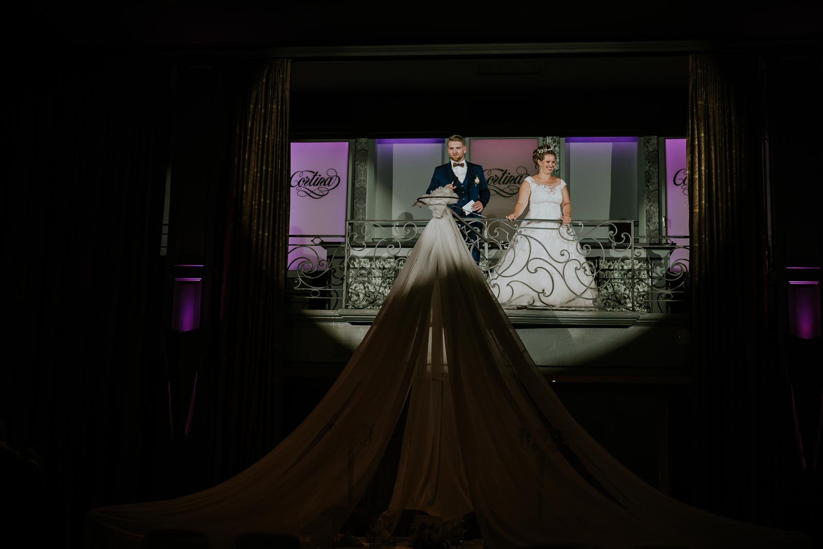 Discours des mariés…