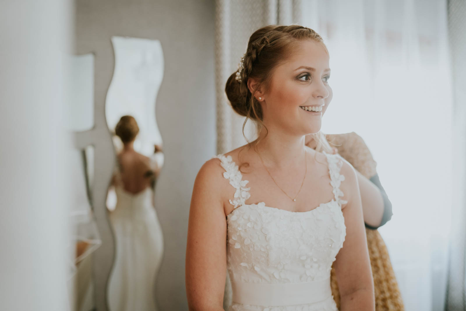 Préparatifs de la mariée…