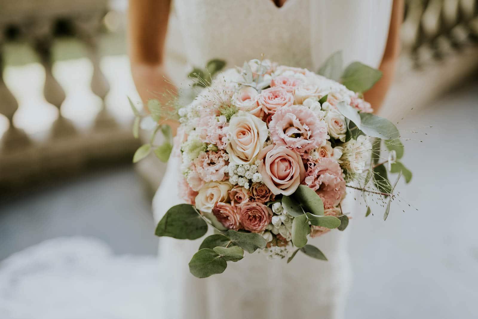 Bouquet de la mariée - Château de Philiomel