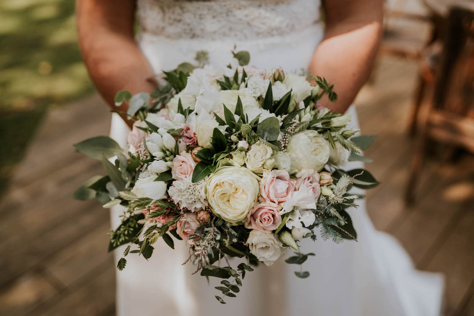 Le bouquet de la mariée…