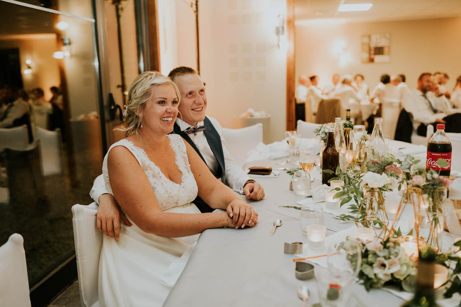 Soirée de mariage - les discours