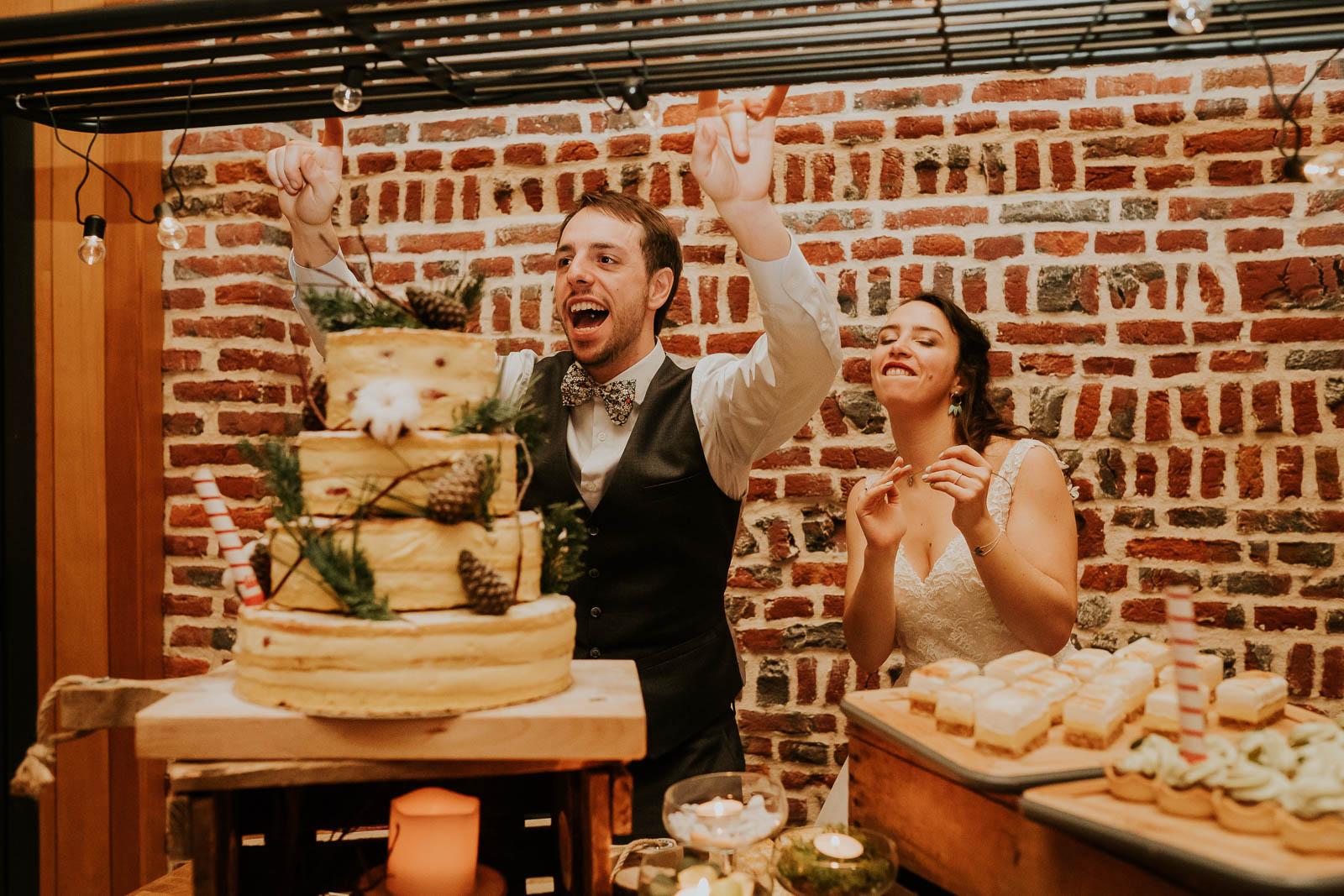 Présentation des desserts au Domaine de la Traxène