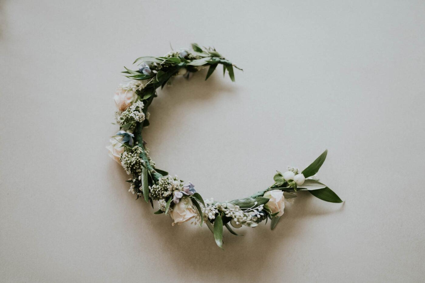 couronne de fleur de mariage