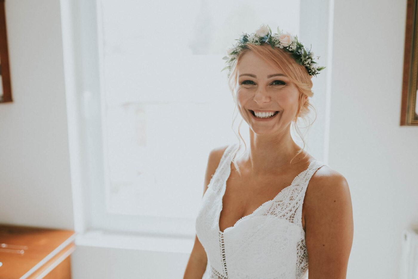 La mariée se prépare - Juste un Baiser