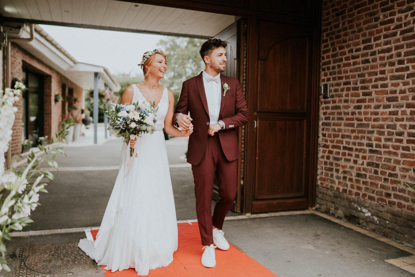 Cérémonie de mariage à la mairie de Carvin