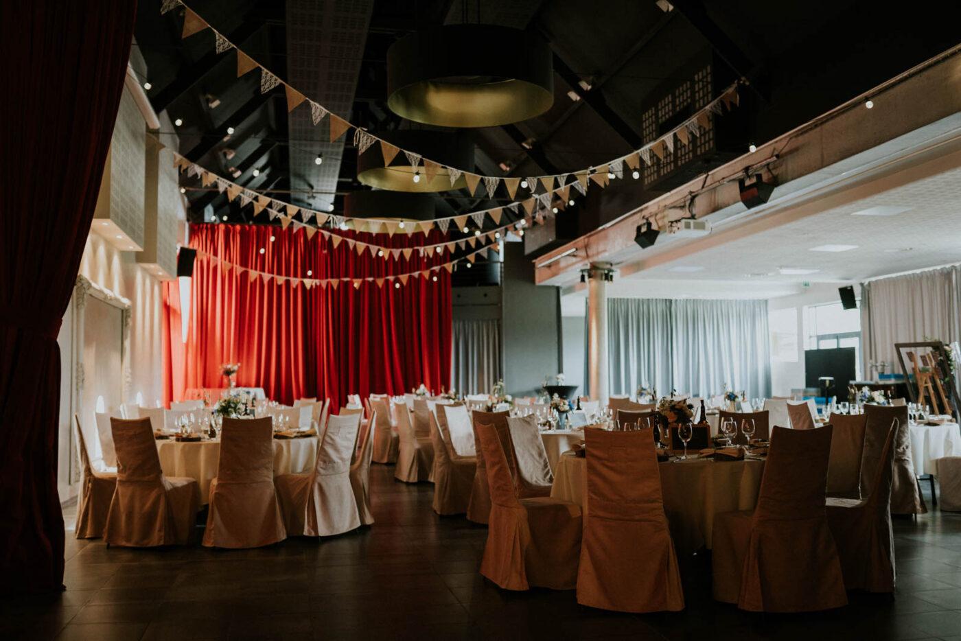 Décoration salle des mariés - Carré du Hélin
