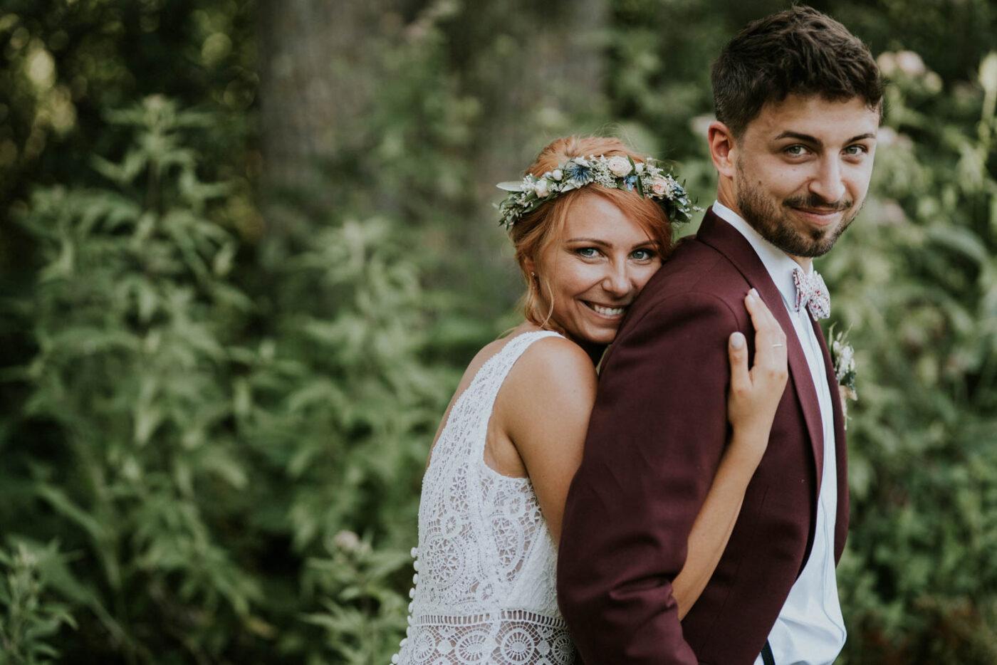 Séance photo de couple de mariage - Carré du Hélin