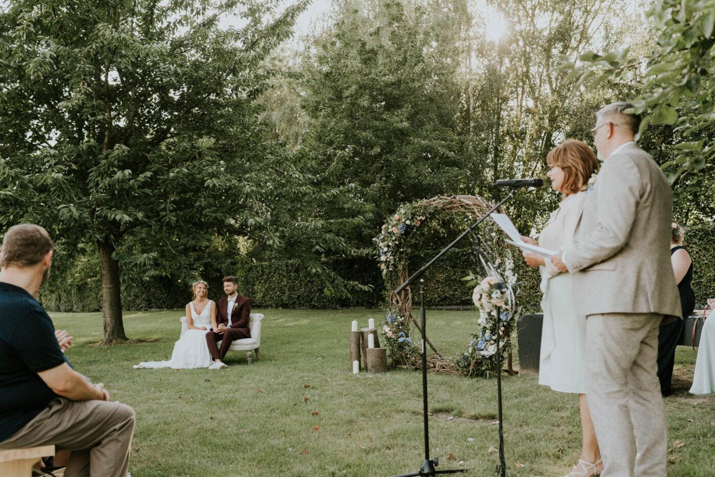 Cérémonie laïque de mariage - Carré du Hélin